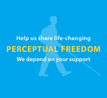 Help us share life-changing Perceptual Freedom. We depend on your support.