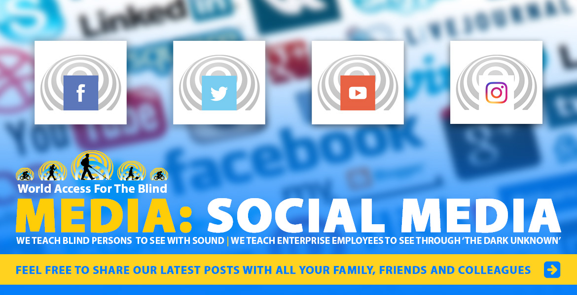 Media: Social Media. Feel free to share our latest posts with all your family, friends and colleagues. Image: WAFTB social media icons for Facebook, Twitter, YouTube and Instagram are pictured against a burred montage of social media logos.