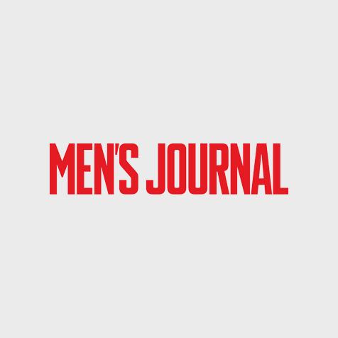 MEN'S JOURNAL magazine logo all-caps in red.