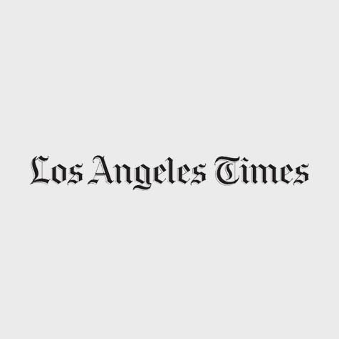 Los Angeles Times logo.