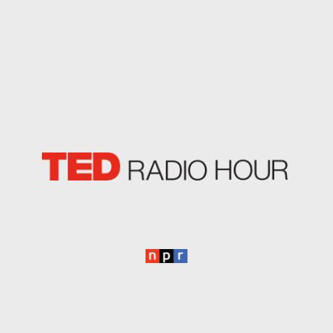 Radio: NPR: Ted Radio Hour logos.