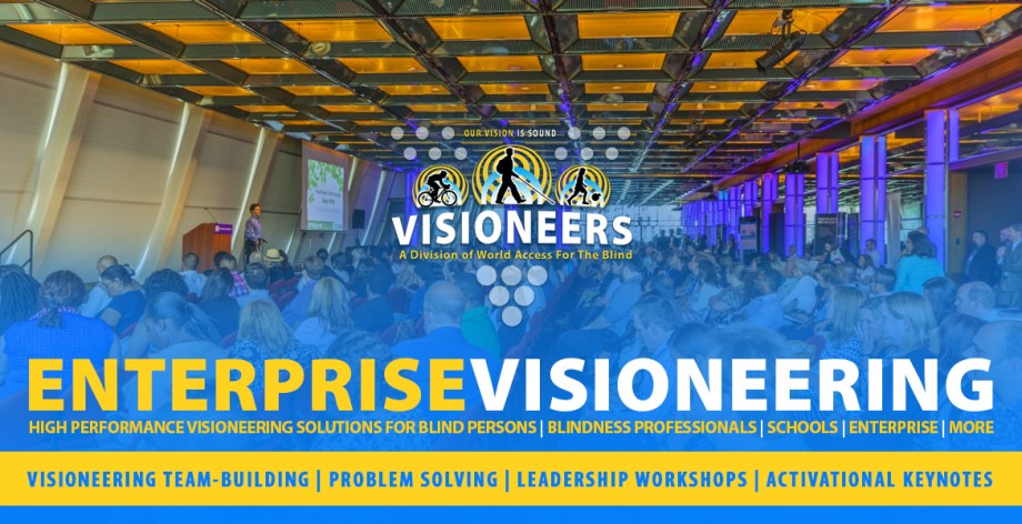 Enterprise Visioneering. Visioneering team-building | Problem Solving | Leadership Workshops | Activational Keynotes.