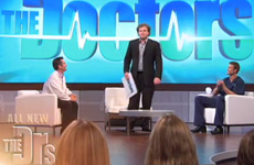 Brian Bushway appears as a guest on The Doctors TV program and gives a demonstration about FLashSonar.