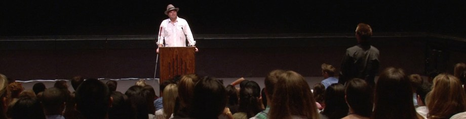Senior Visioneer Brian Bushway delivers a Keynote address at his alma mater - Pepperdine University in Malibu, California.