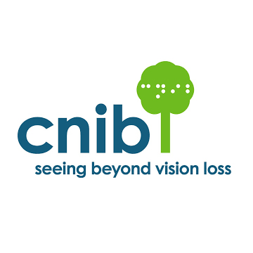 CNIB - Canadian National Institute For The Blind logo as described in previous text.