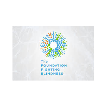 Foundation Fighting Blindness logo- Panel 3 as described in previous text.