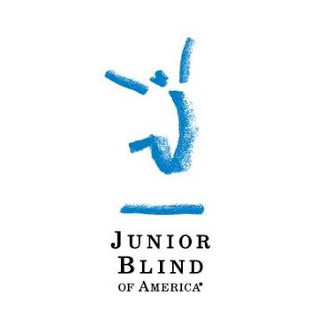 Junior Blind of America logo as described in previous text window.