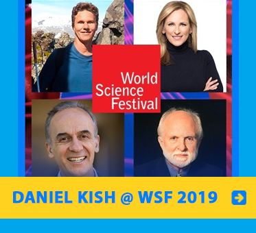 Link image contains photos of Daniel Kish, Marlee Matlin and two scientists who were part of the closing panel at the World Science Festival in New York.
