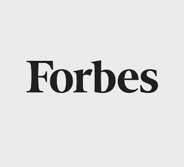 Forbes magazine text logo.