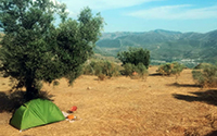 your own tent (plus € 520,-)