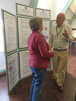 Discussion in flow regarding the Vision for Ickford Neighbourhood Development Plan at the presentation in the Village Hall - 15th September 2018