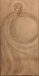 Kahlil Gibran: Male Figure, graphite on paper, 1903