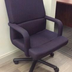 Purple Task Chair Swivel Office Hon Vision Interiors