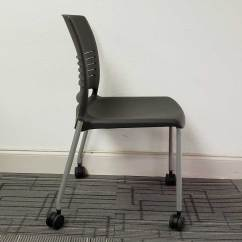 Ki Strive Chair Unfinished Wood Rocking Used Stack Guest By Vision Office Interiors