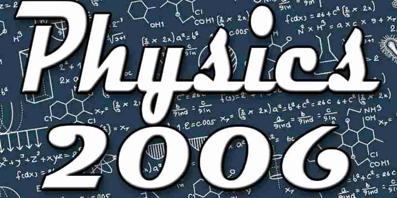 Physics July 2006 Paper Gujarati Medium