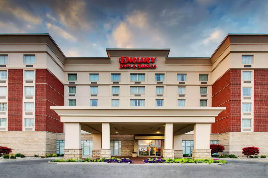 Hotel Photography for Drury Inn and Suites