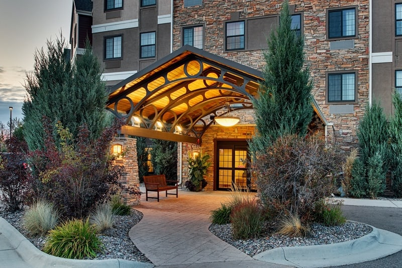 IHG Approved Hotel Photography for Staybridge Suites Missoula Exterior 07