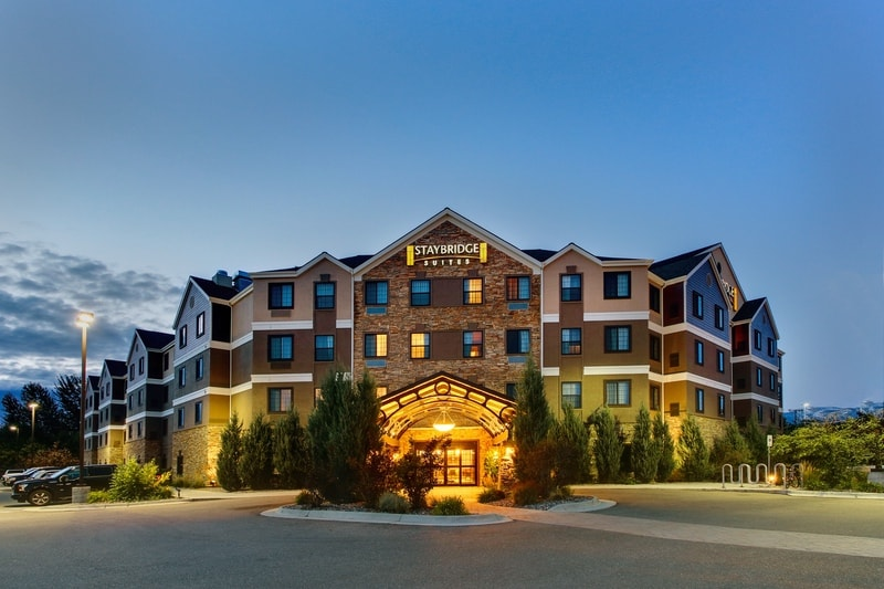 IHG Approved Hotel Photography for Staybridge Suites Missoula Exterior 12