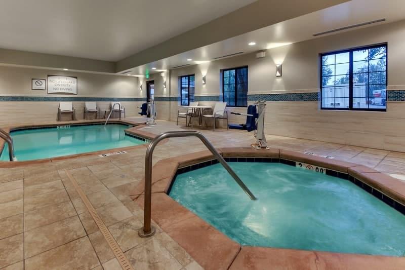 IHG Approved Hotel Photography for Staybridge Suites Missoula Pool 02 2