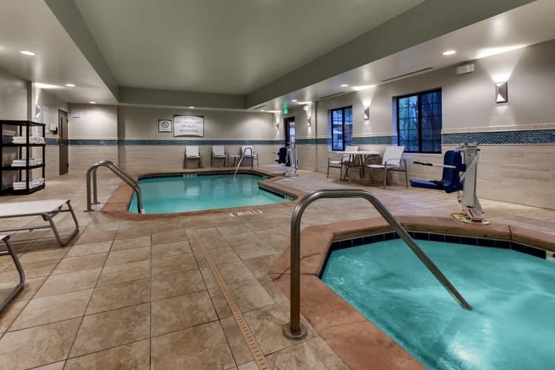 IHG Approved Hotel Photography for Staybridge Suites Missoula Pool 03 2