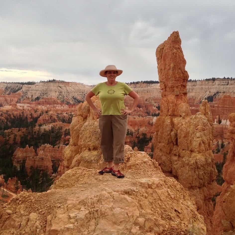 Hotel Photographer posing at Bryce Canyon National Park