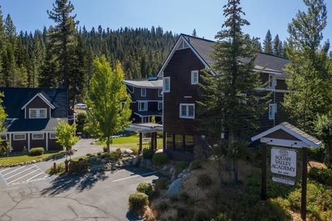 Boarding School Virtual Tour for Lake Tahoe Prep Aerial 16