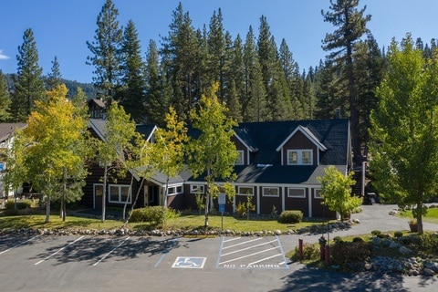 Boarding School Virtual Tour for Lake Tahoe Prep Aerial 17