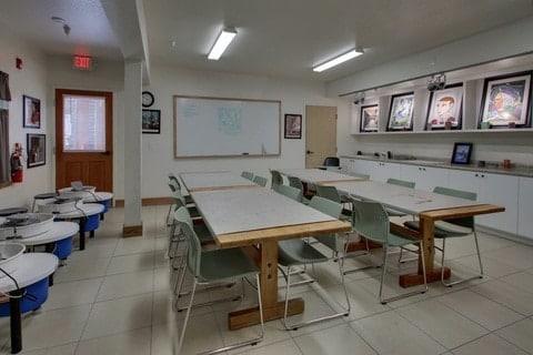 Boarding School Virtual Tour for Lake Tahoe Prep Art Classroom