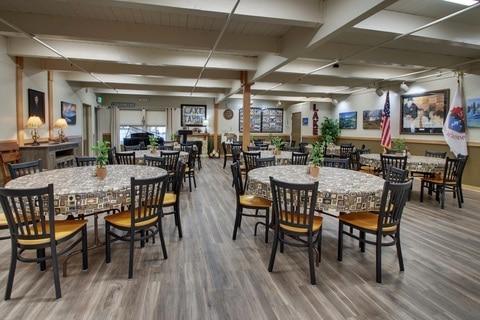 Boarding School Virtual Tour for Lake Tahoe Prep Dining Room 01
