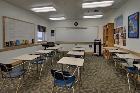 Boarding School Virtual Tour for Lake Tahoe Prep English Classroom 01