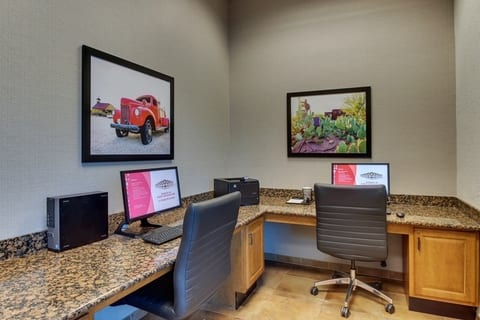 Professional Hotel photography of Drury Hotels business Center