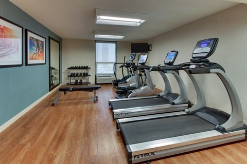 Drury Approved Photography for Pear Tree Inn St. Louis Fitness Center
