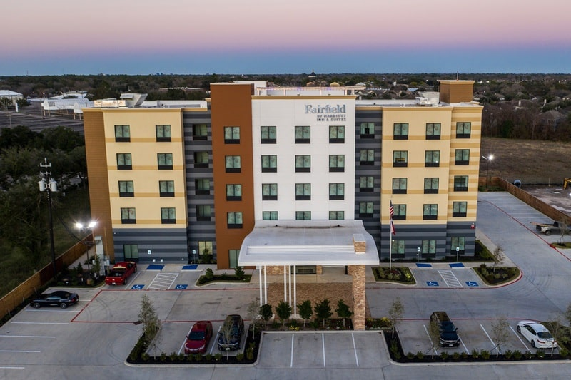 Marriott approved photography for Fairfield inn Houston Brookhollow - FF HOUFB Aerial 03