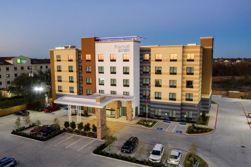 Marriott approved photography for Fairfield inn Houston Brookhollow - FF HOUFB Aerial 10
