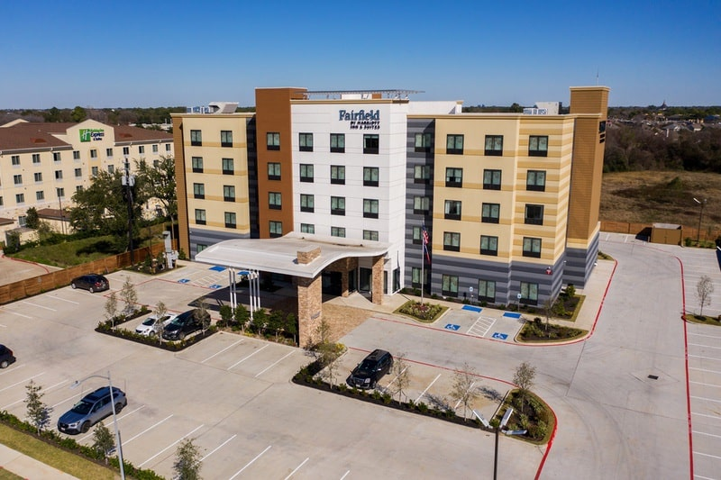 Marriott approved photography for Fairfield inn Houston Brookhollow - FF HOUFB Aerial 14