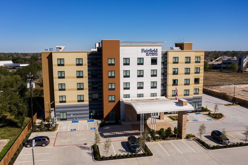 Marriott approved photography for Fairfield inn Houston Brookhollow - FF HOUFB Aerial 15