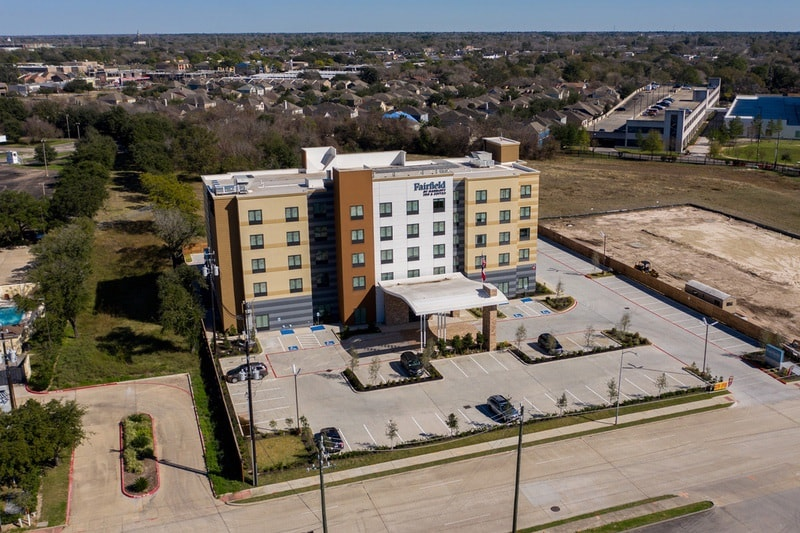Marriott approved photography for Fairfield inn Houston Brookhollow - FF HOUFB Aerial 19
