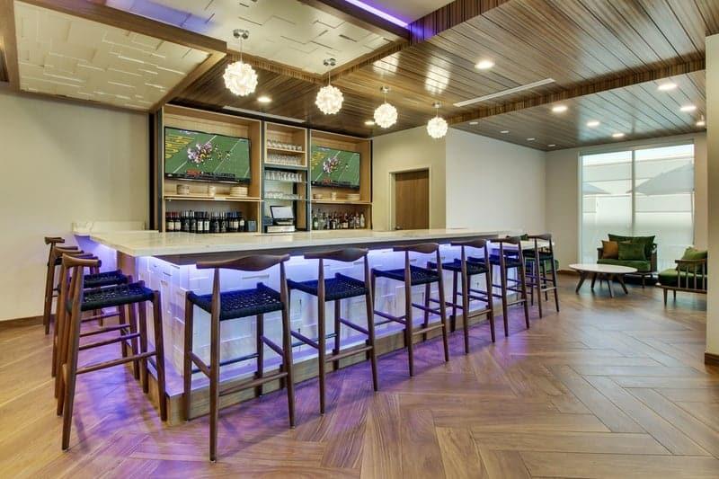 Marriott approved photography for Fairfield inn Houston Brookhollow - FF HOUFB Bar 03