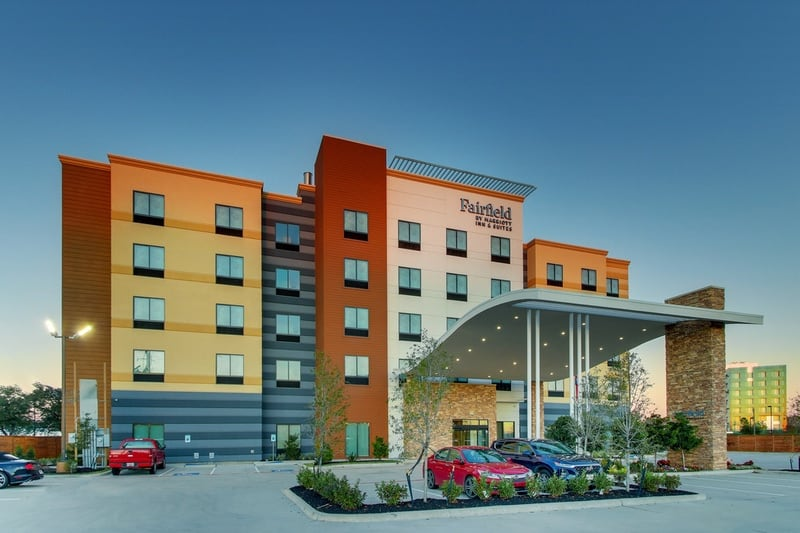 Marriott approved photography for Fairfield inn Houston Brookhollow - FF HOUFB Exterior 06