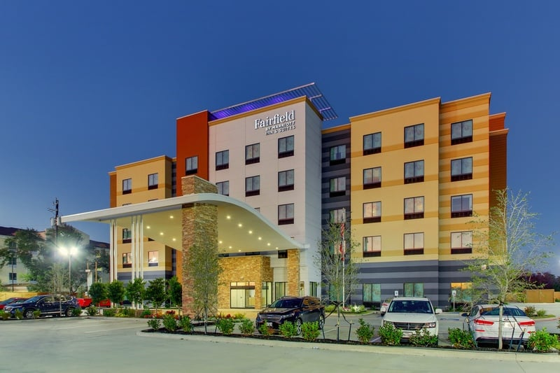 Marriott approved photography for Fairfield inn Houston Brookhollow - FF HOUFB Exterior 07