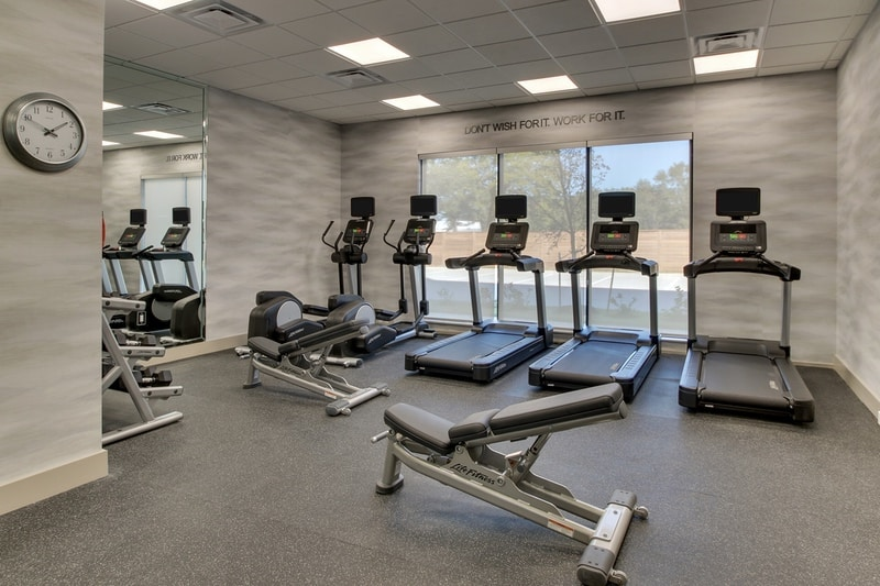 Marriott approved photography for Fairfield inn Houston Brookhollow - FF HOUFB Fitness Center 02