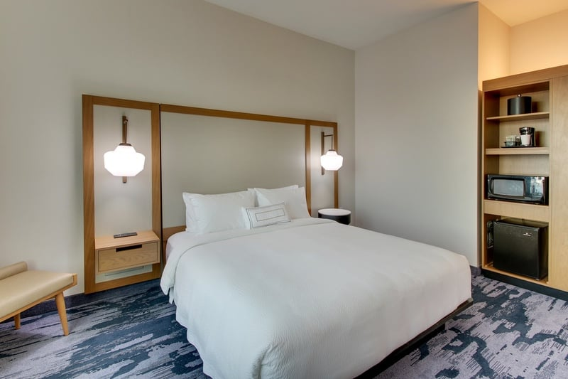 Marriott approved photography for Fairfield inn Houston Brookhollow - FF HOUFB KING 03