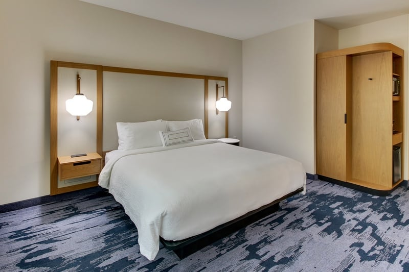 Marriott approved photography for Fairfield inn Houston Brookhollow - FF HOUFB KING 2 04