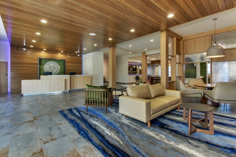 Marriott approved photography for Fairfield inn Houston Brookhollow - FF HOUFB Lobby 03