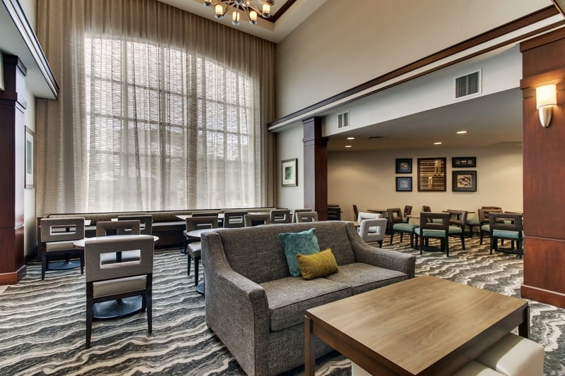 IHG Approved Hotel Photography for Staybridge Suites Missoula Dining Area 01