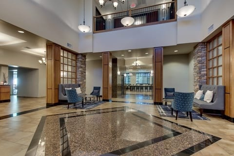 Professional Hotel photography of Drury Hotels lobby