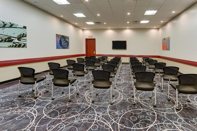 Hilton approved hotel photography for doubletree stl forest park Meeting Room 07