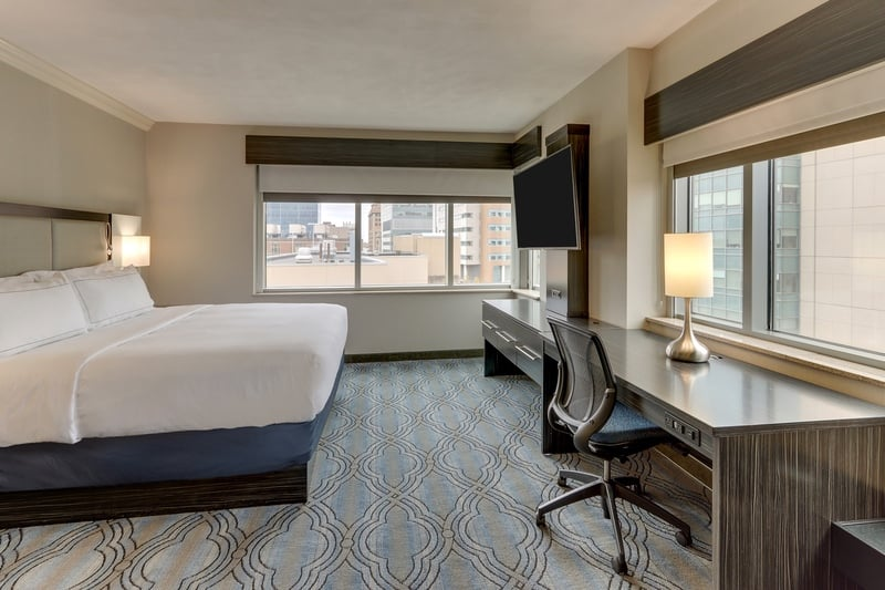 Hilton approved hotel photography for doubletree stl forest park NKJ 03