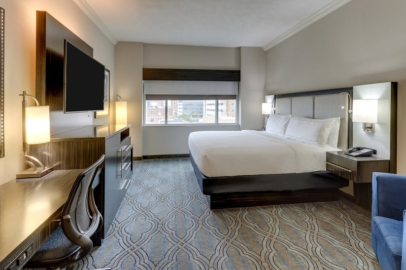 Hilton approved hotel photography for doubletree stl forest park NKR 01