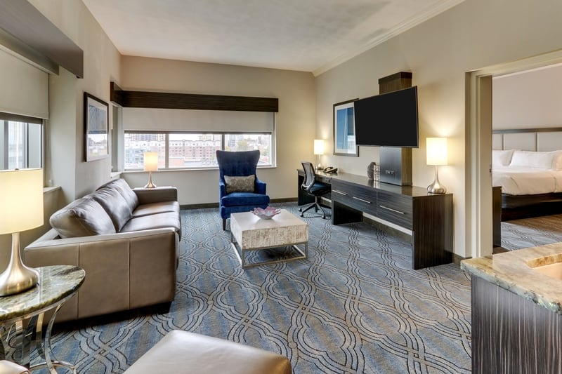 Hilton approved hotel photography for doubletree stl forest park NKS 02